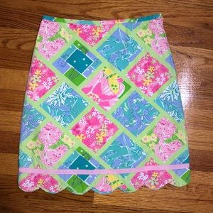 kids Lilly Pulitzer skirt